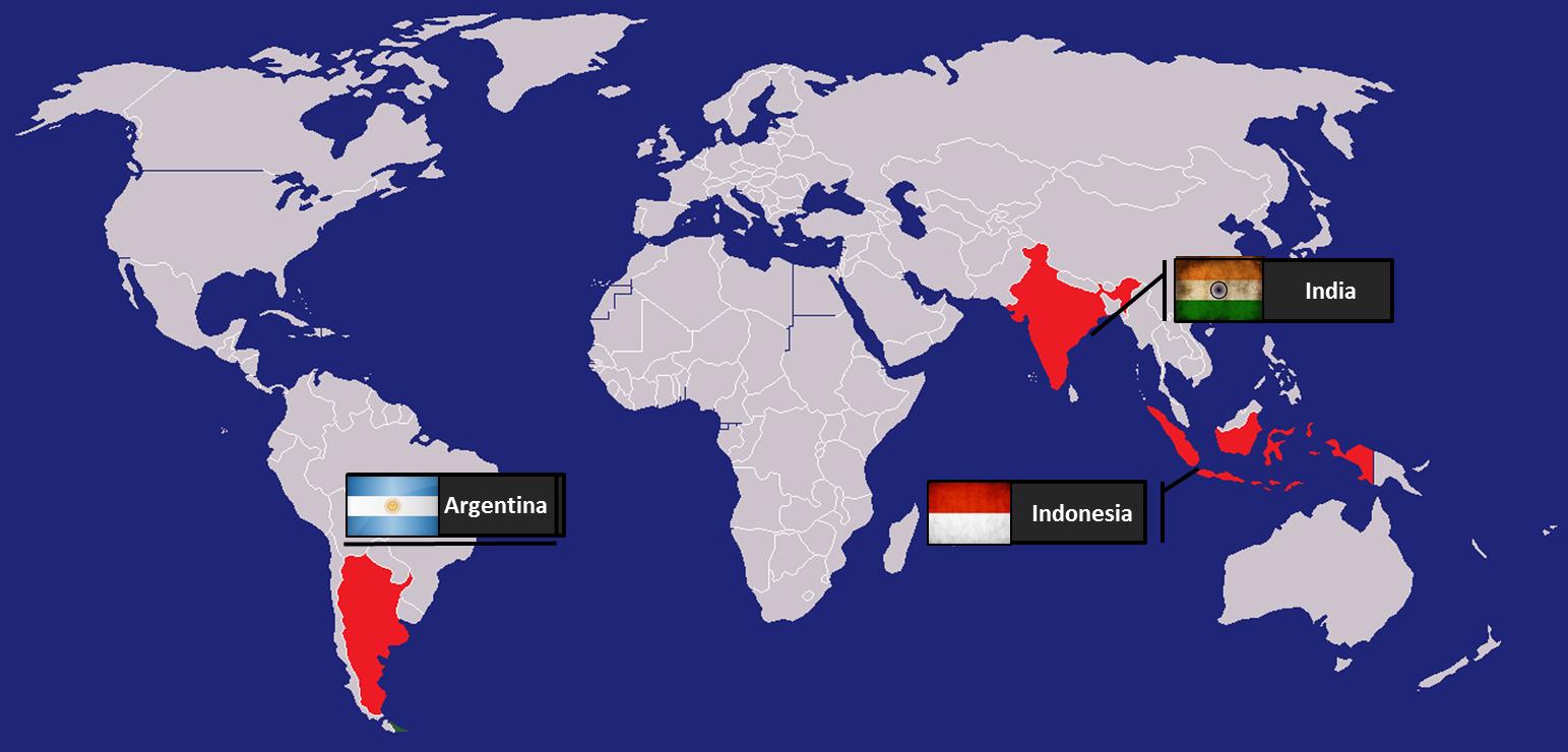 18 09 Argentina Con La Vista Puesta En India E Indonesia